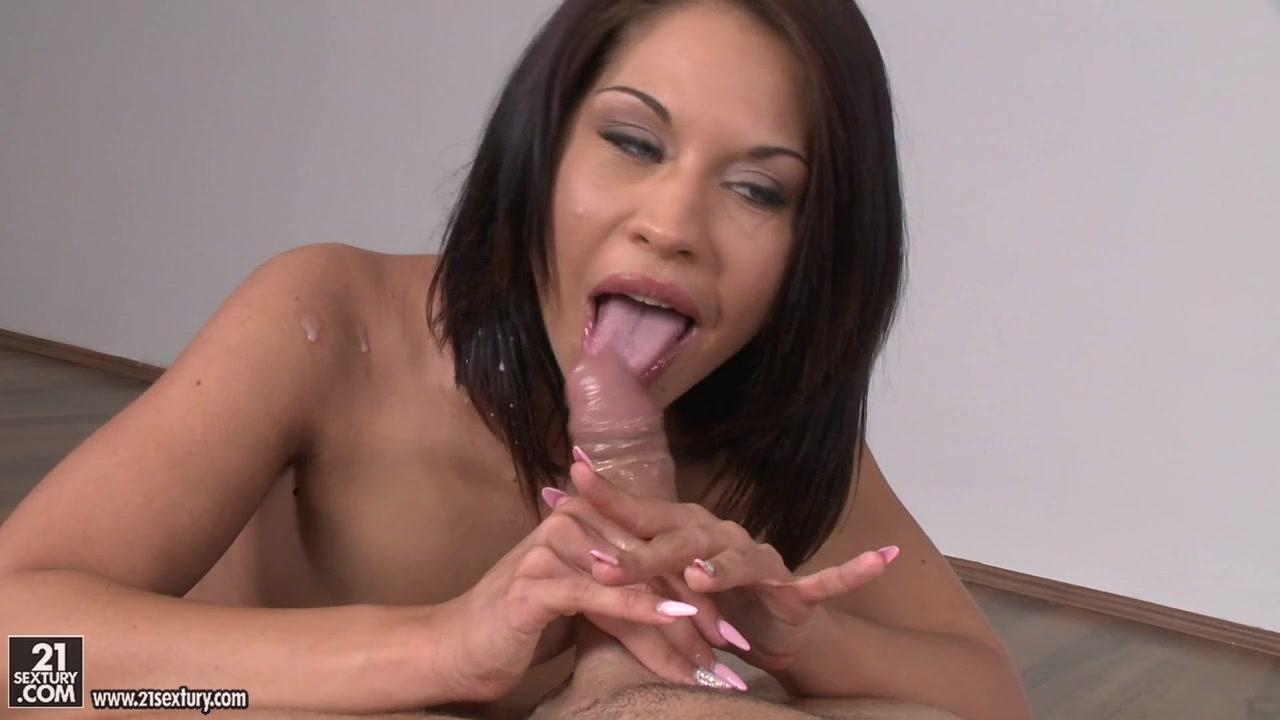 Exotic pornstar Bianca Pearl in Fabulous Blowjob, Brunette adult clip