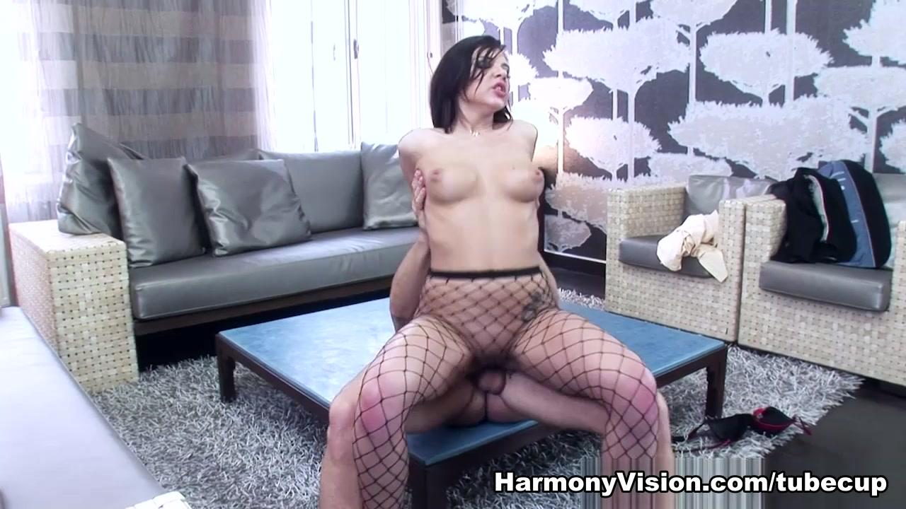Hottest pornstars in Incredible Brunette, Creampie adult clip