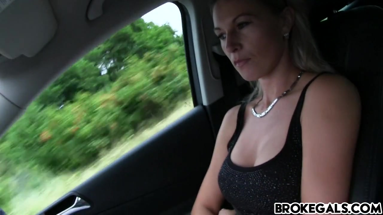 Hot Blonde Hitchhiker Alena